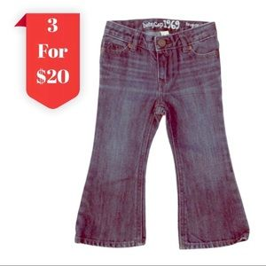 3/$20 Baby GAP Favourite Flare Distressed Jeans